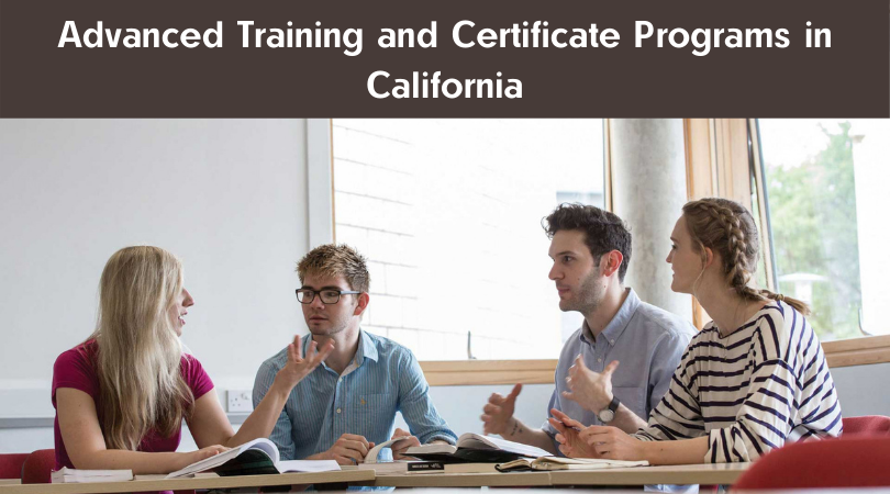 Advanced Training and Certificate Programs in California