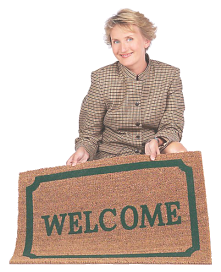 welcome lady