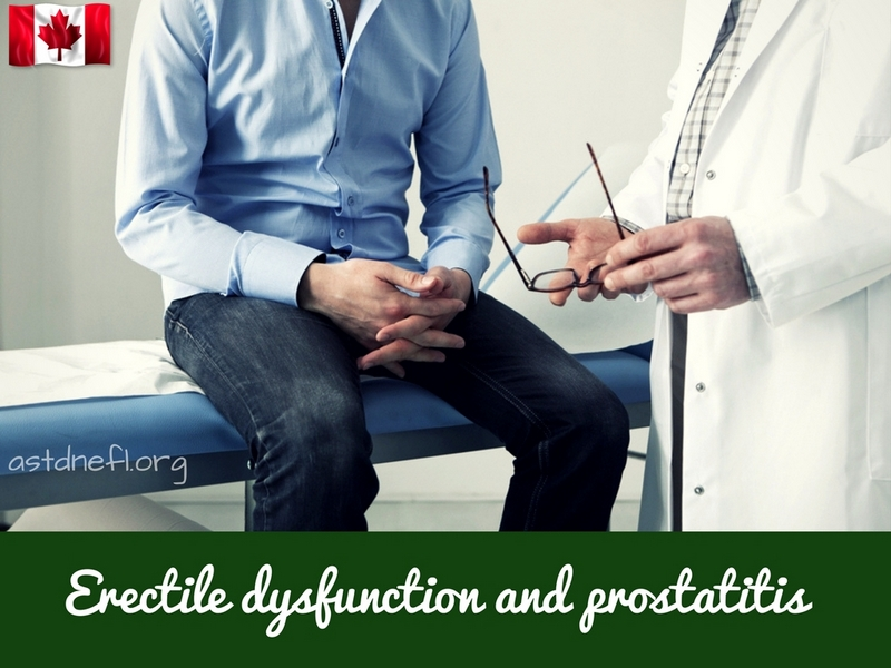 Erectile dysfunction and prostatitis