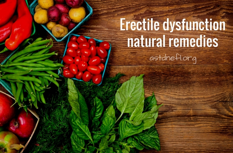 Erectile dysfunction natural remedies